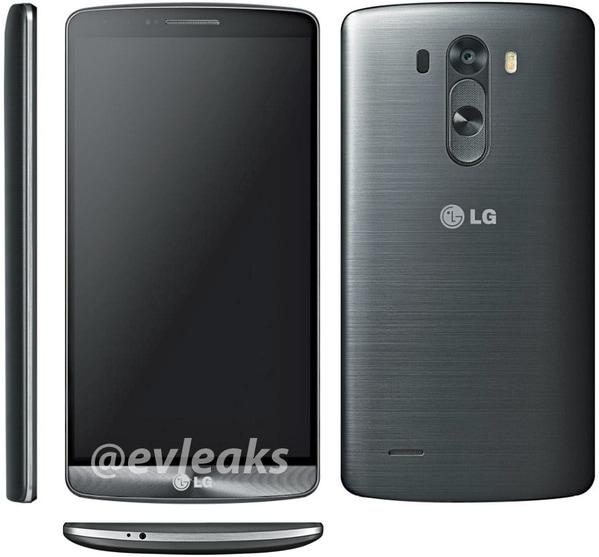 LG G3 render 1