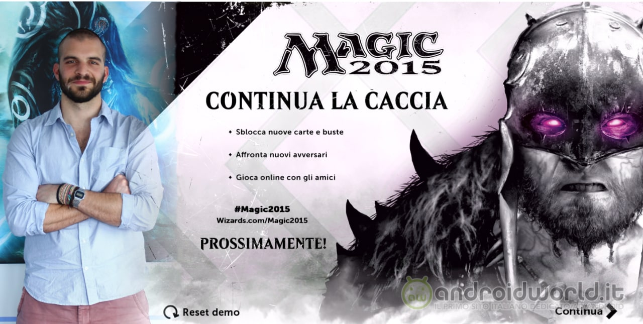 Magic 2015 Intervista