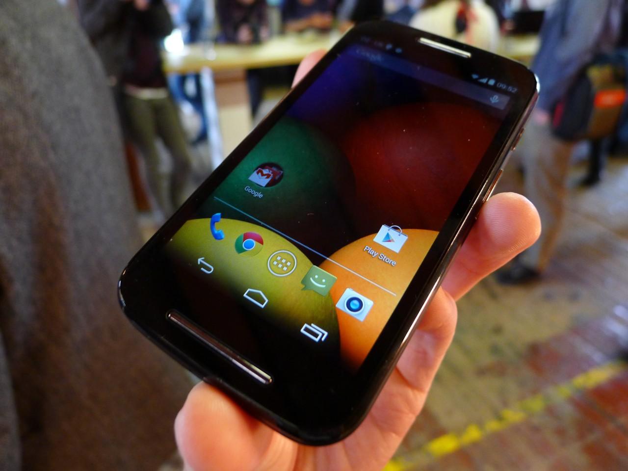 Motorola Moto E: hands-on e prime impressioni (foto e video)