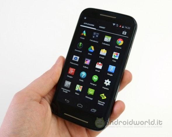 Motorola Moto E 8