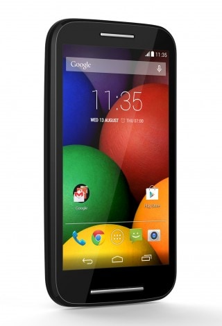 Motorola Moto E render ufficiali nero 1