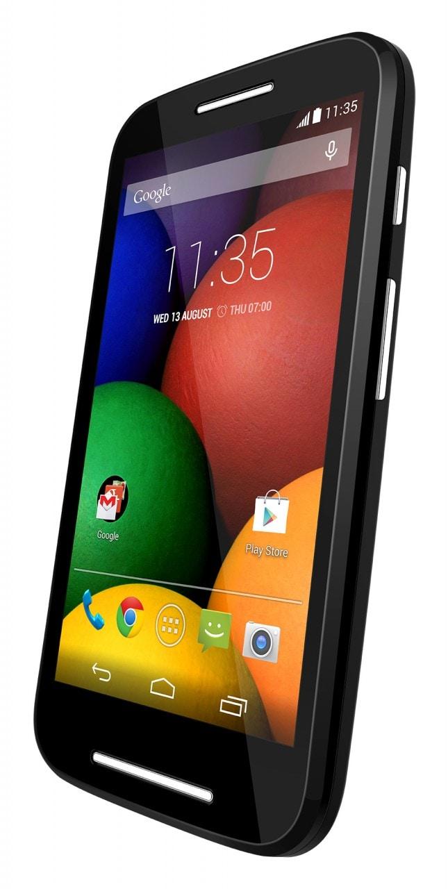 Motorola Moto E render ufficiali nero 3