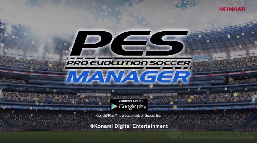 PES MANAGER: arriva su Android il manageriale di calcio di Konami (foto e video)