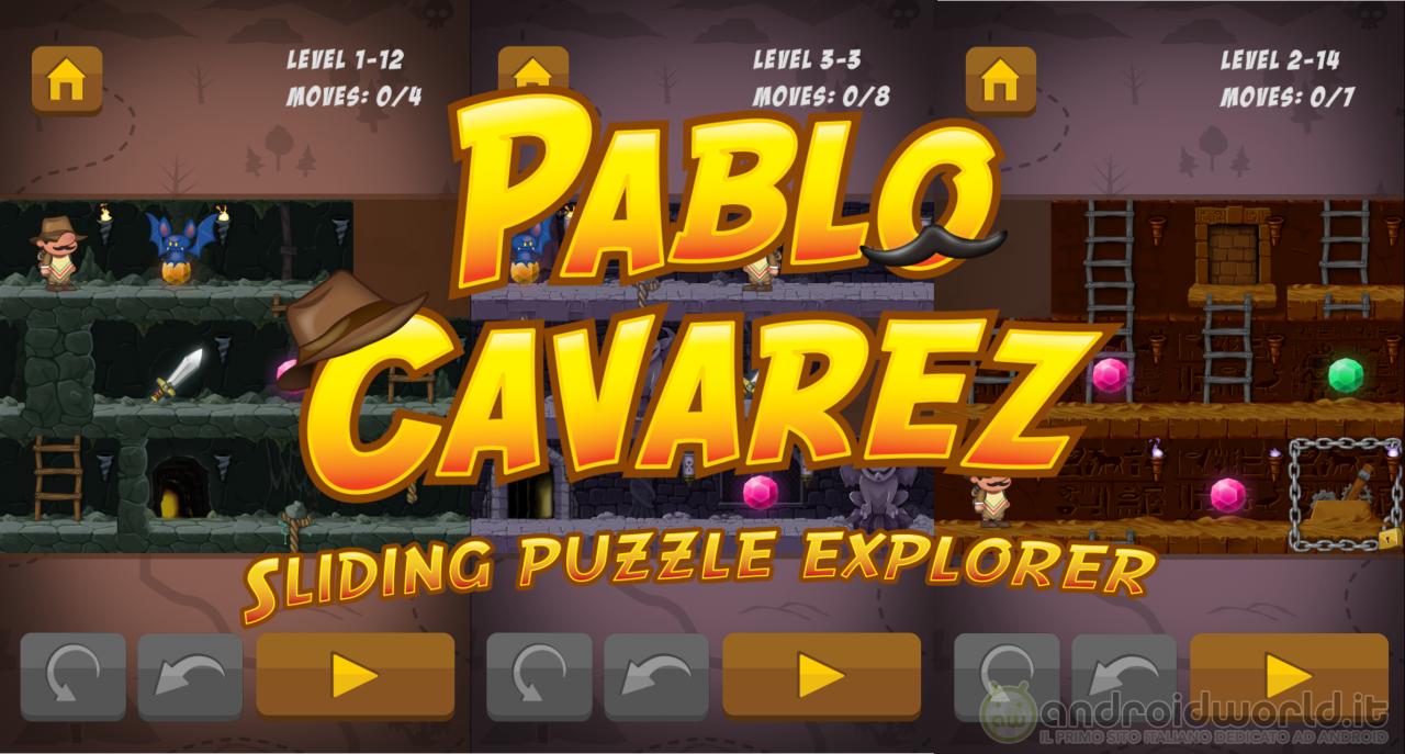 Pablo Cavarez: il nuovo Sliding Puzzle Game tutto italiano! (foto e video)