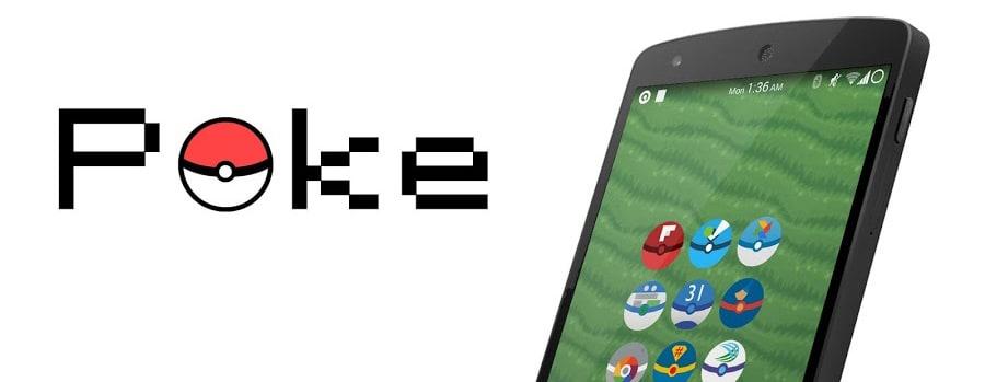 Poke icon pack - head