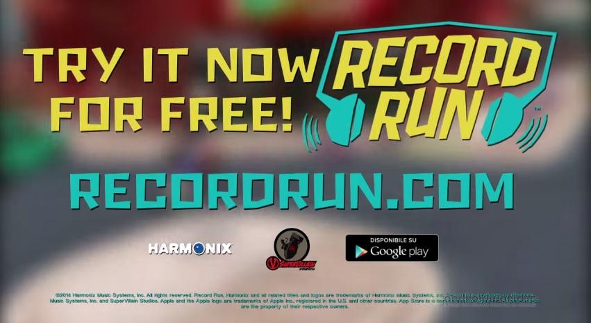 Record Run di Harmonix: evitiamo gli ostacoli a ritmo di musica (foto e video)