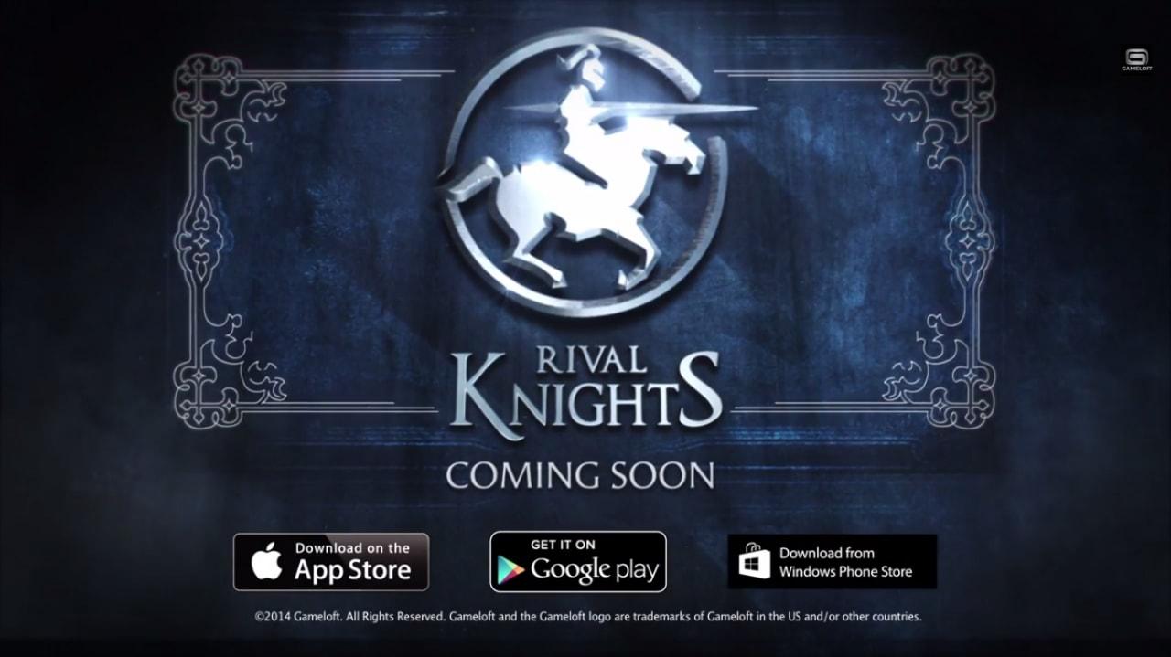 Rival Knights: sfide tra cavalieri nel prossimo gioco di Gameloft
