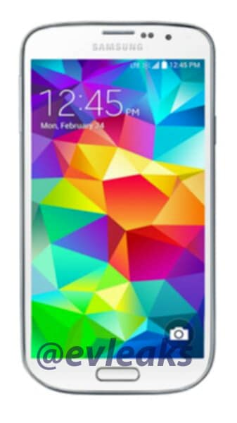 Samsung Galaxy S5 Dx: ecco un primo render