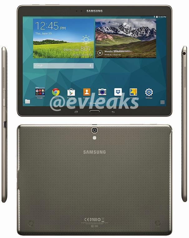 Samsung Galaxy Tab S 10.5 leak