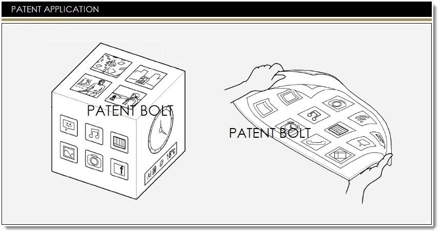 Samsung brevetta un display flessibile in grado di diventare un cubo