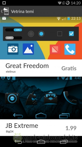 Screenshot OnePlus One Temi