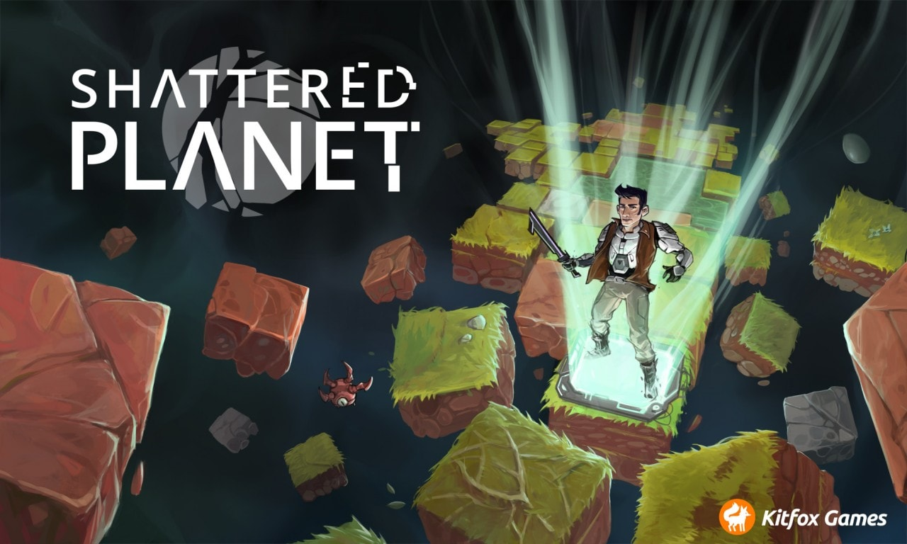 Shattered Planet Title