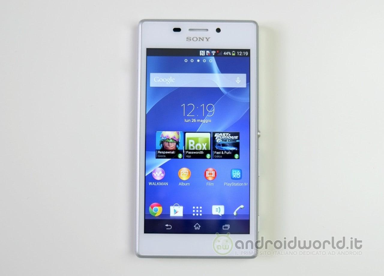 Sony Xperia M2 01
