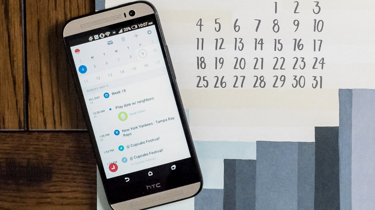 Sunrise Calendar: l'app definiva per il calendario su Android? (foto e video)