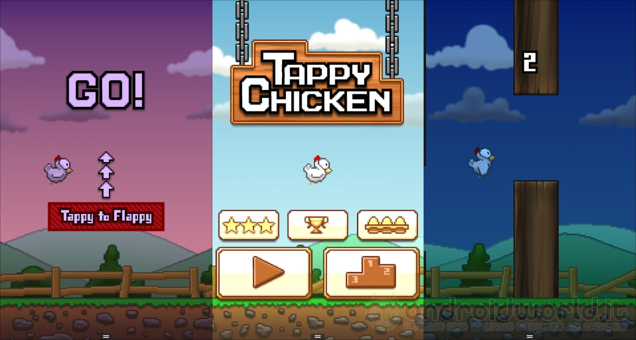 Tappy Chicken Header