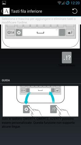 Tastiera LG G3 1