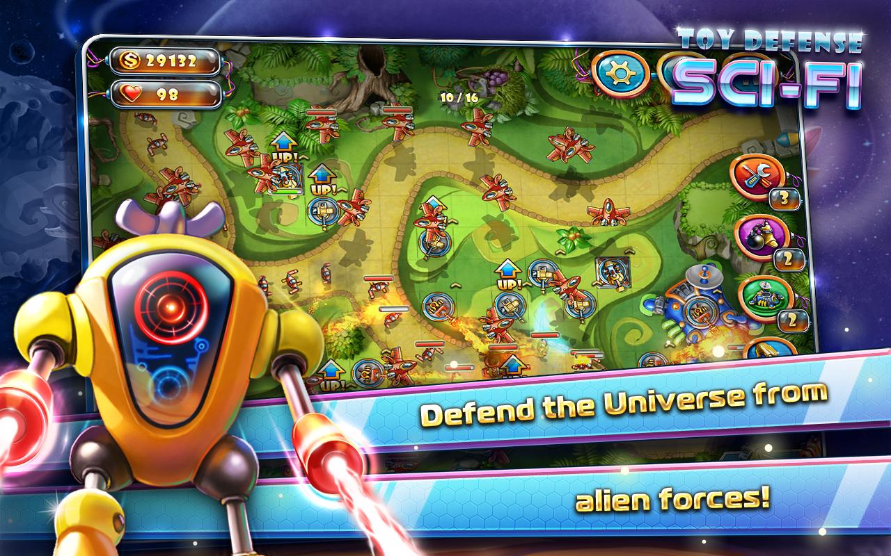 Toy Defense 4 Sci-Fi, il nuovo tower defense di Melesta Games (foto)