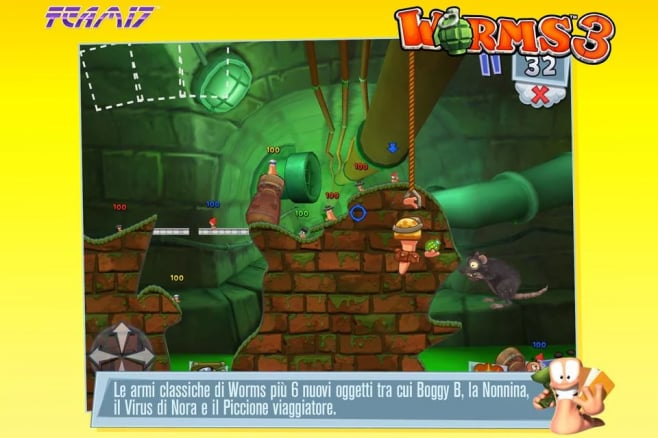Worms 3 Android (5)