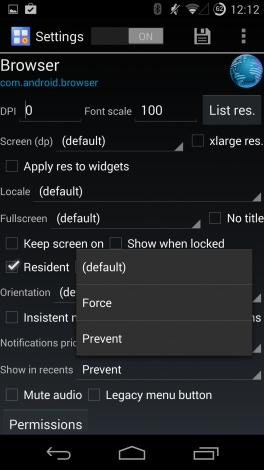 Xposed App Settings 1
