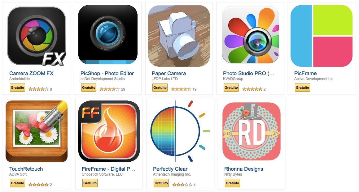 Amazon regala 9 ottime app fotografiche, ma solo per oggi