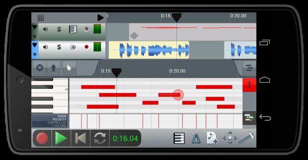 [Soundroid] n-Track Studio per Android si aggiorna con supporto audio USB e MIDI