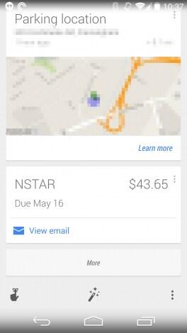 bollette Google Now 3