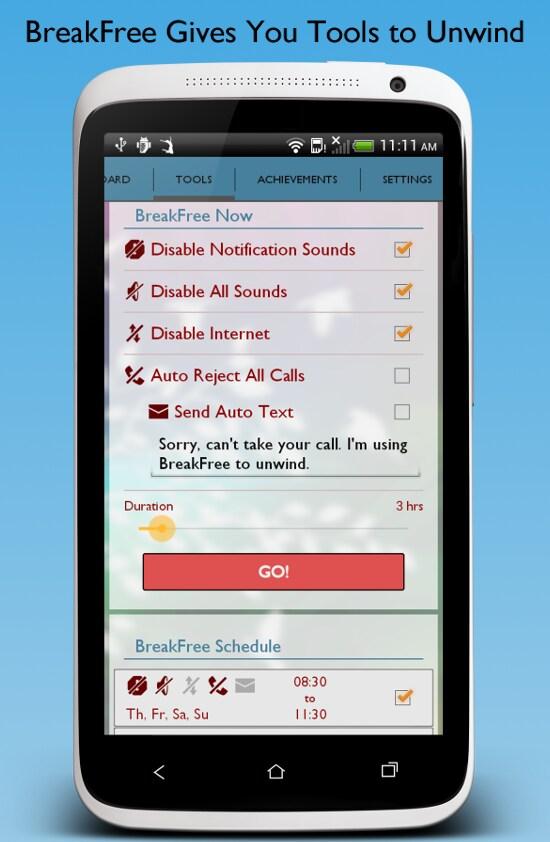 Breakfree Liberarvi Dal Vostro Smartphone Con Un App
