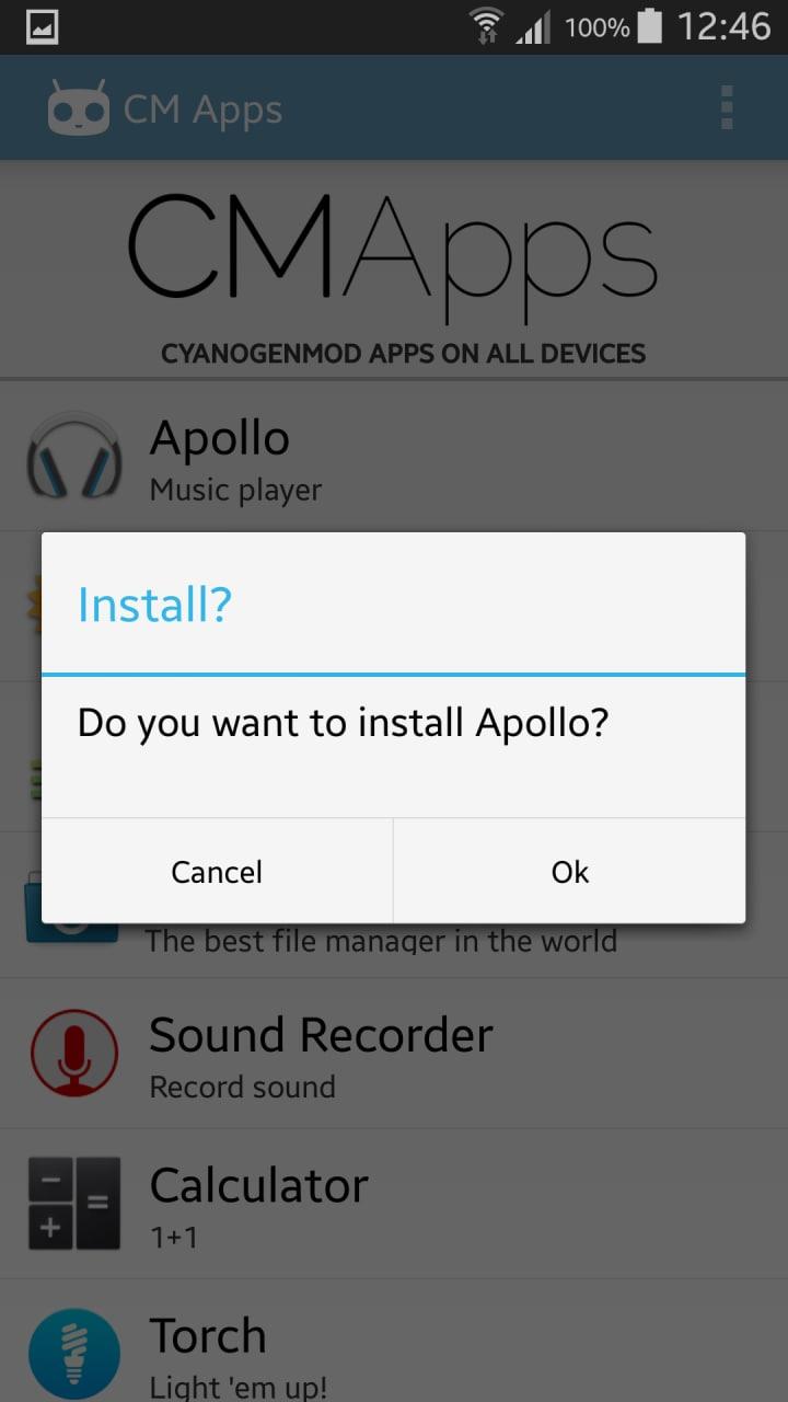 Installiamo le app di CyanogenMod su qualsiasi dispositivo con CM Apps