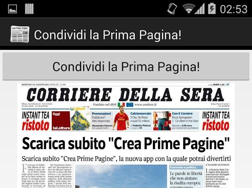Crea La Tua Prima Pagina Del Giornale Con Unapp Androidworld