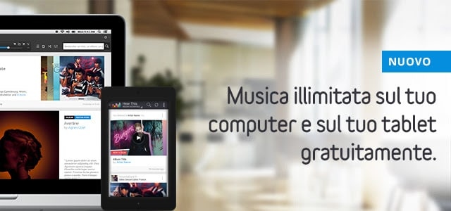 deezer tablet