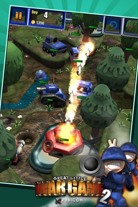 Great Little War Game 2 in arrivo su Android a giugno