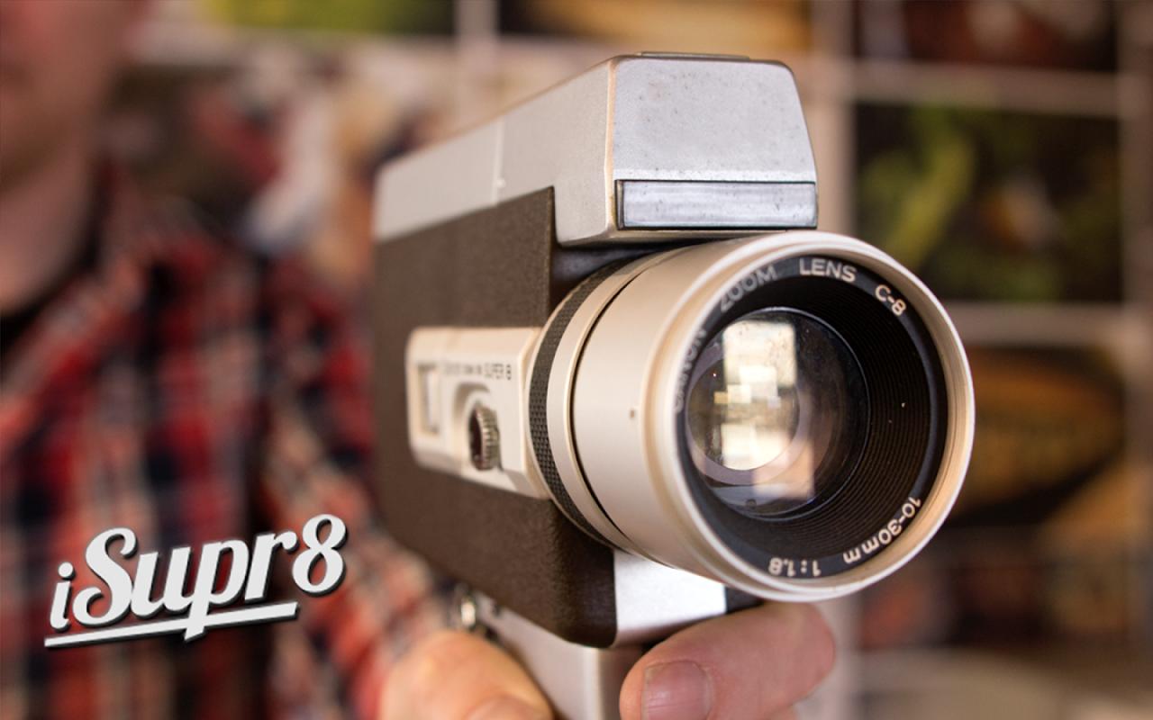 iSupr8, la famosa videocamera vintage nel vostro telefono (foto e video)