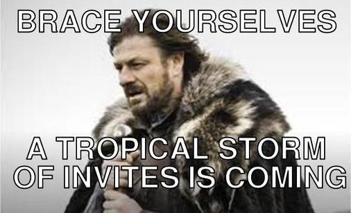 OnePlus ci suggerisce di prepararci... per una pioggia di inviti!