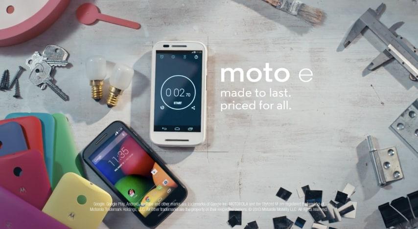 Motorola rilascia già un video ufficiale per Moto E