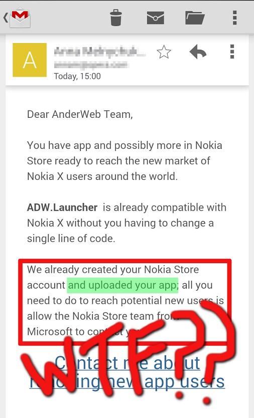 Nokia popola il suo store Android senza il consenso degli sviluppatori?