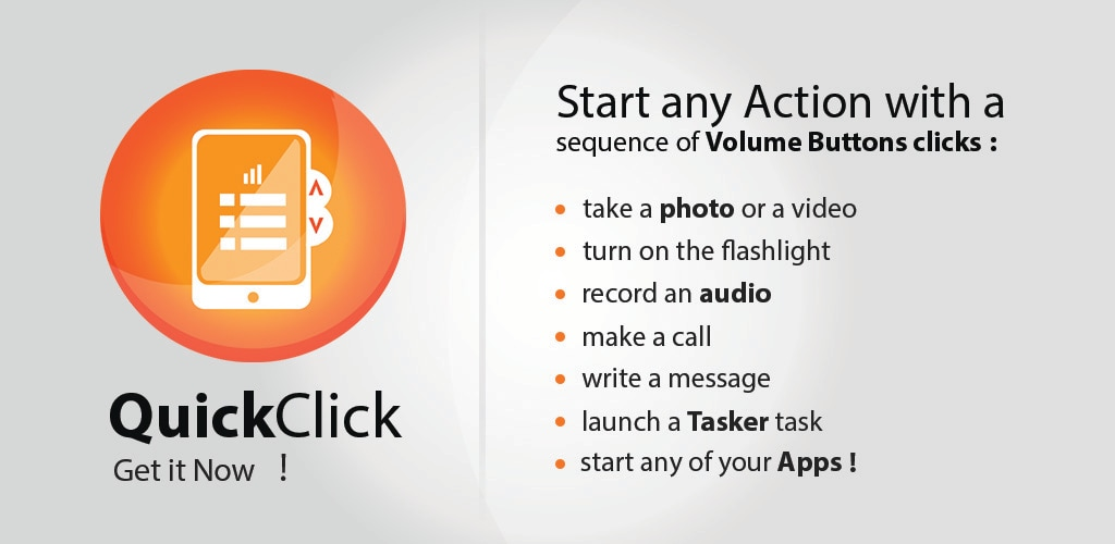 Gestire il dispositivo a schermo spento con QuickClick (foto e video)