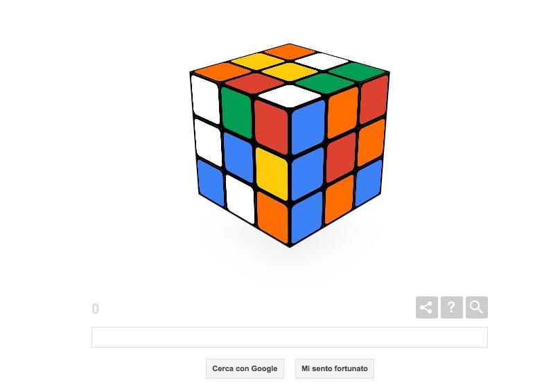 Giochiamo al cubo di Rubik su Google! (video)