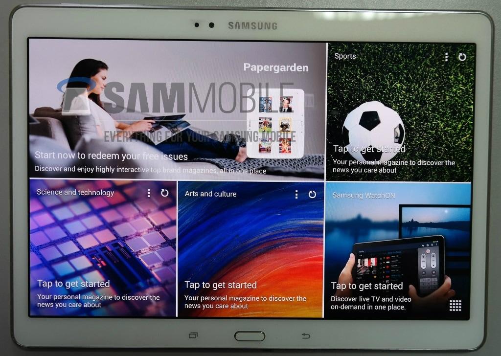 Samsung Galaxy Tab S 10.5 nelle prime immagini: sembra proprio un tablet Samsung! (foto)