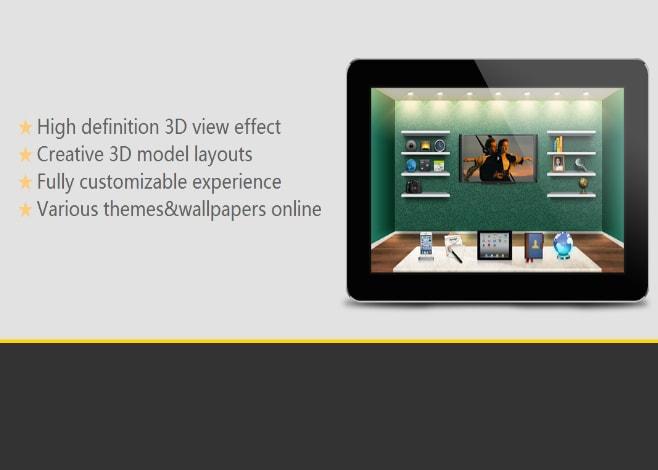 3d home_applicazione_launcher 3d