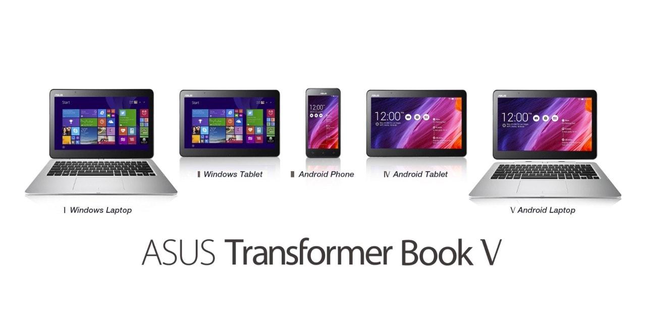 ASUS Transformer Book V: 5 dispositivi in uno solo (foto)