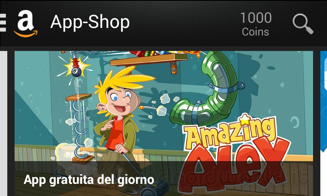 Amazing Alex Amazon App-Shop