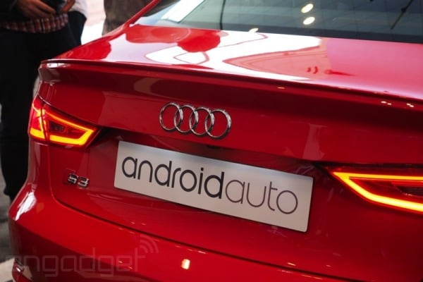 Android Auto Audi 5