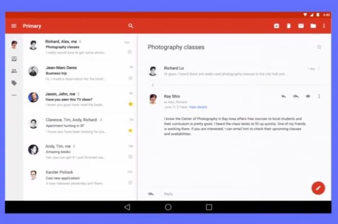 Android L presentazione 7