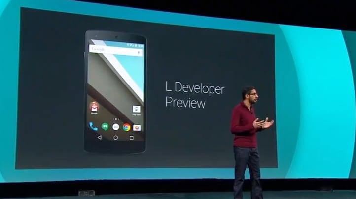 Android L: tutte le novità della preview della più rivoluzionaria versione di Android (foto)