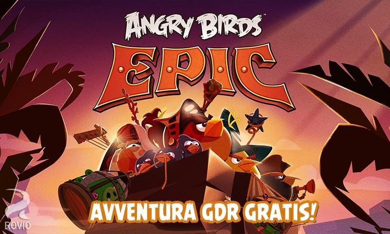 Angry Birds Epic: il nuovo gioco di ruolo di Rovio arriva su Android (foto e video)