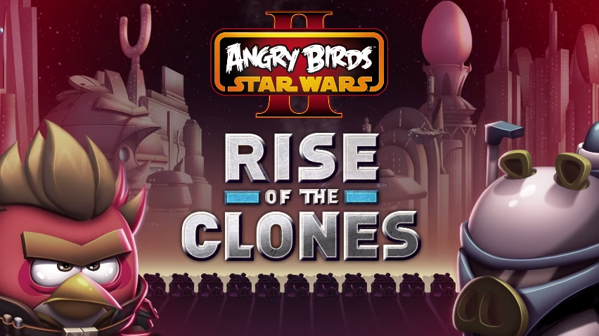 Angry Birds Star Wars II Rise of the Clones