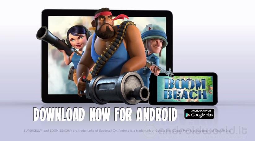 Boom Beach Android Header