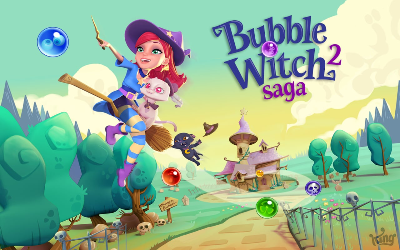 Bubble Witch Saga Android