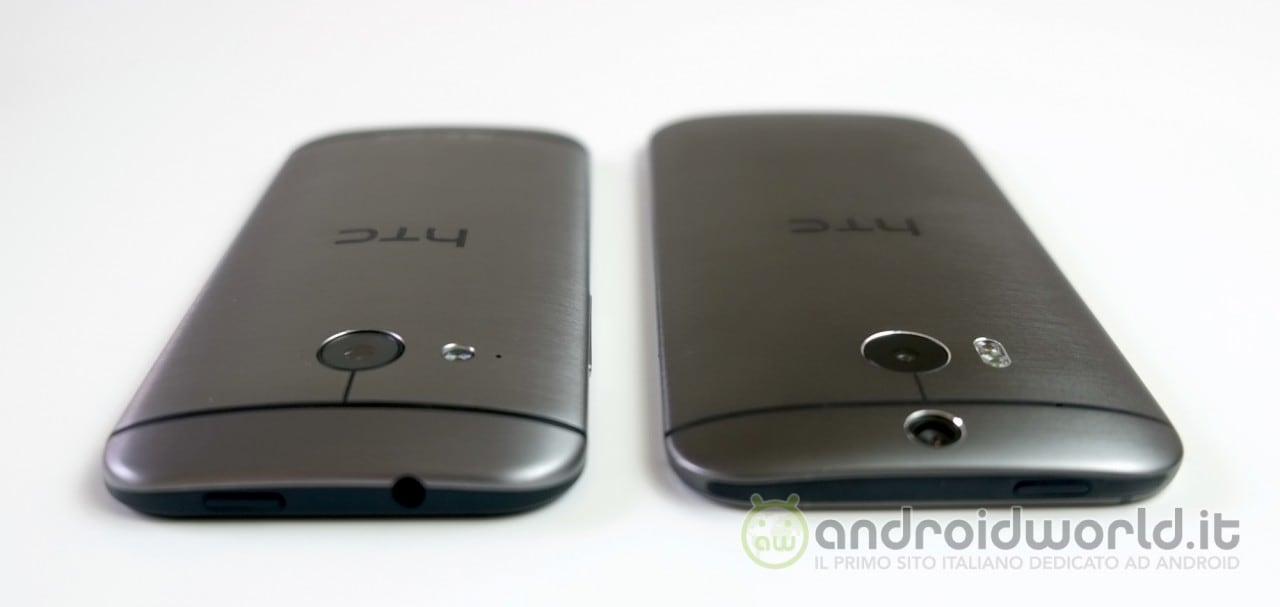 Confronto HTC One Mini 2 - One M8 6