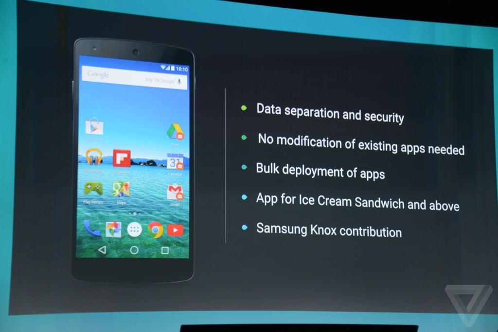 Android Samsung Knox